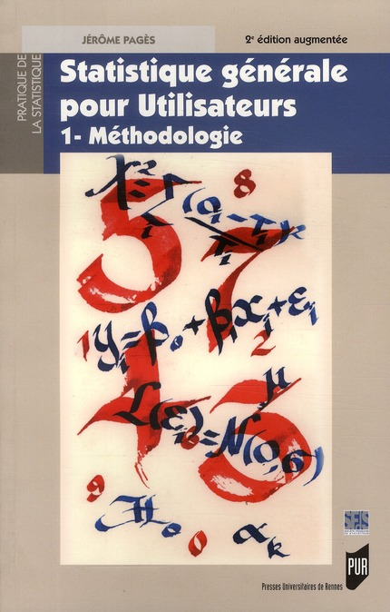Statistique Generale Pour Utilisateurs T.1 ; Methodologie (2e Edition)