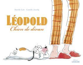 Léopold, chien de divan
