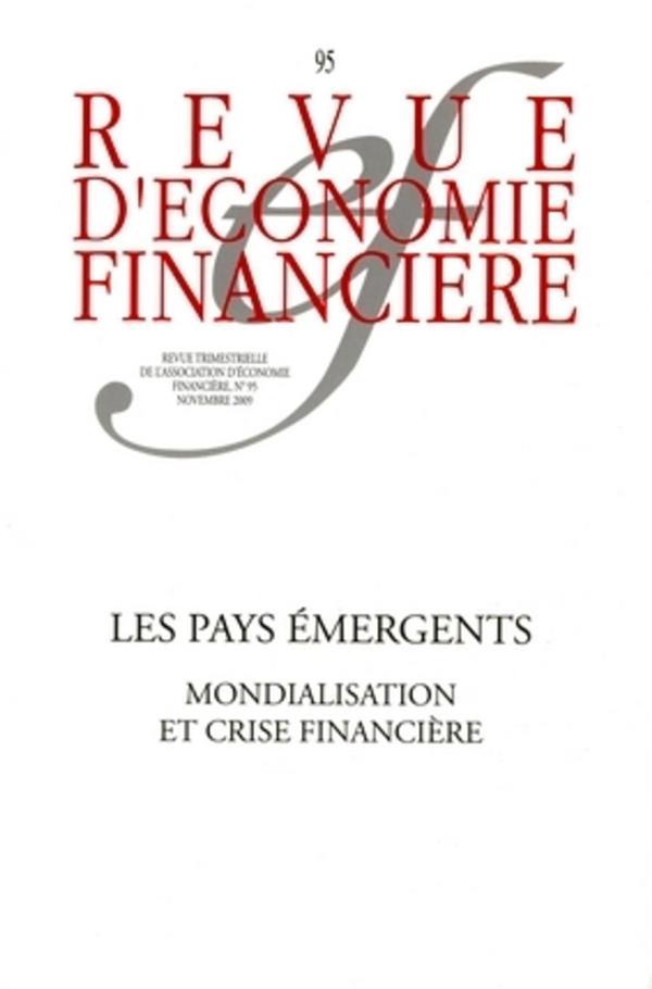 Les pays emergents - n  95 - novembre 2009