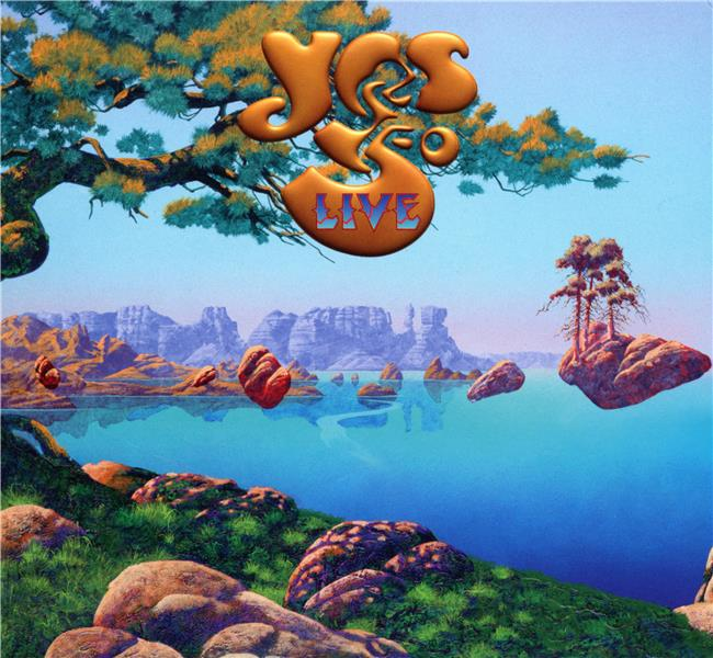 Yes 50 live (édition 2 cd)