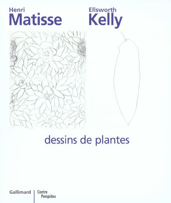 MATISSE - KELLY. DESSINS DE PLANTES
