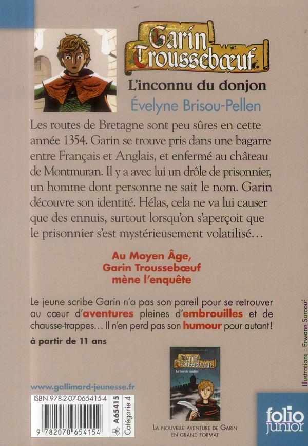 Garin Trousseboeuf t.1 ; l'inconnu du donjon