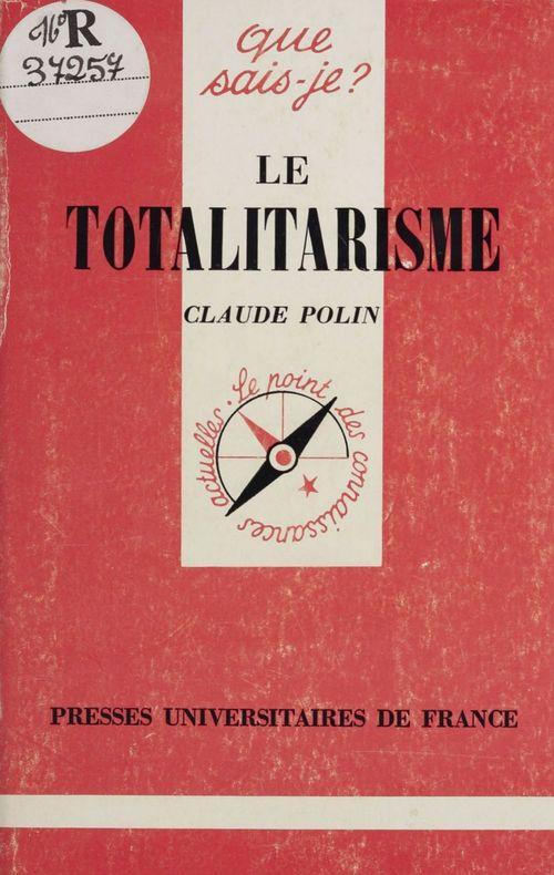 Le totalitarisme
