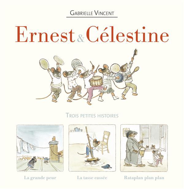 Ernest et Célestine ; COFFRET ; la grande peur, la tasse cassée, rataplan plan plan