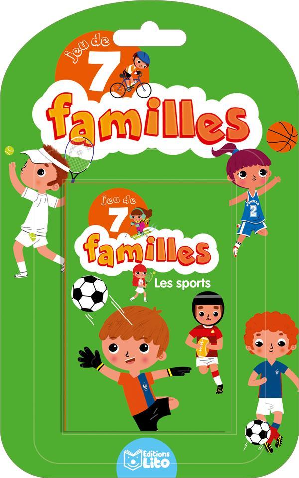 Baretti Sonia - JEU DE 7 FAMILLES  -  LES SPORTS