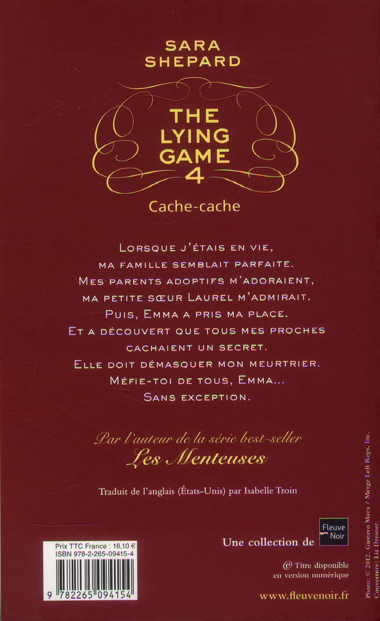 The lying game t.4