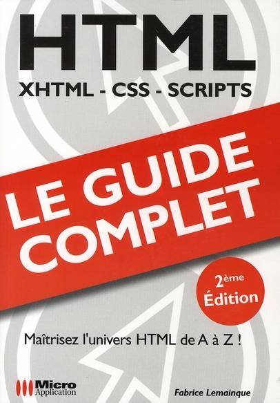 Html ; maîtrisez le langage html de A à Z !