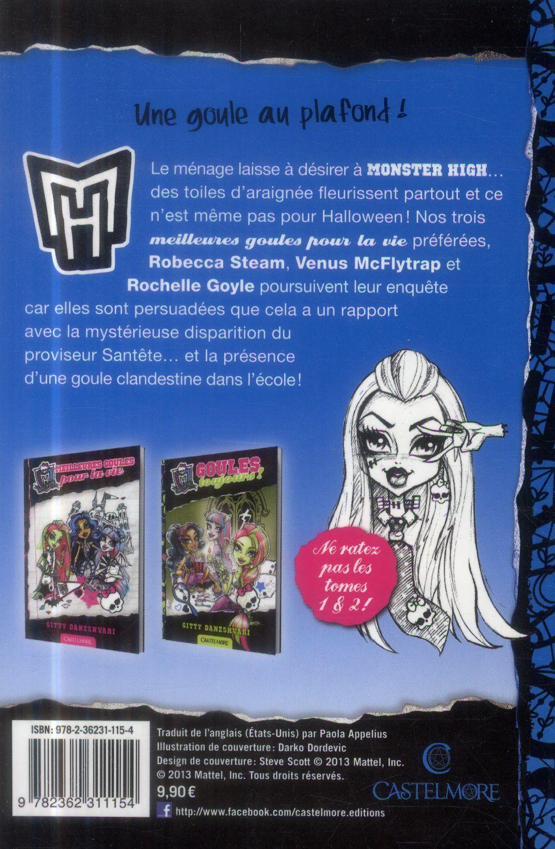 Monster High T.3 ; chair de goule