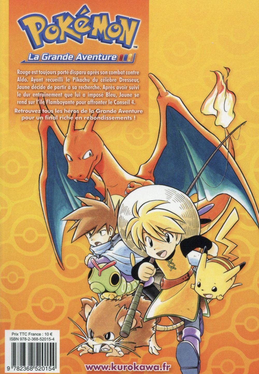 Pokémon ; la grande aventure t.3