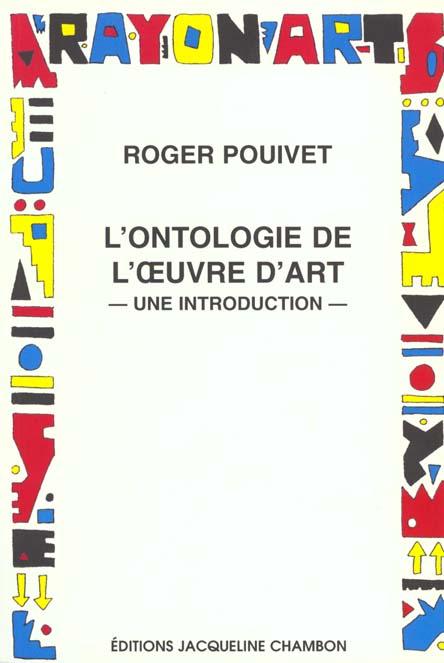 Ontologie oeuvre d'art (l)