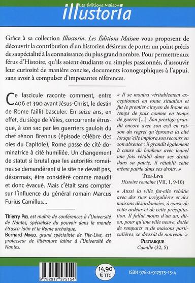 Camille ou le destin de Rome (406-390 av. J.-C.)