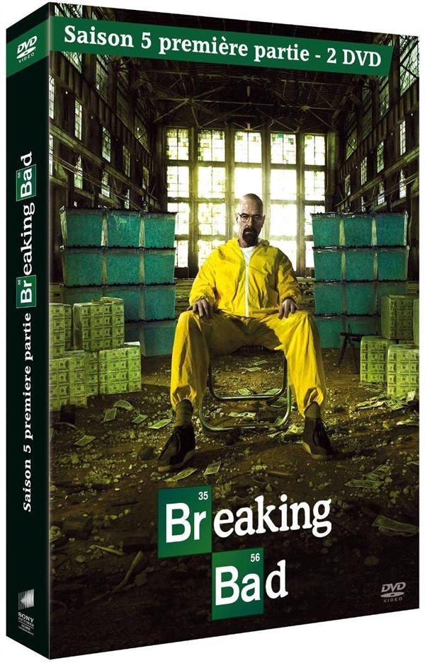 coffret breaking bad, saison 5, vol. 1