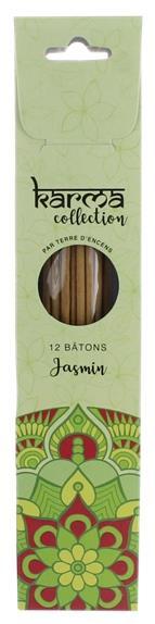 Encens karma collection batonnets jasmin