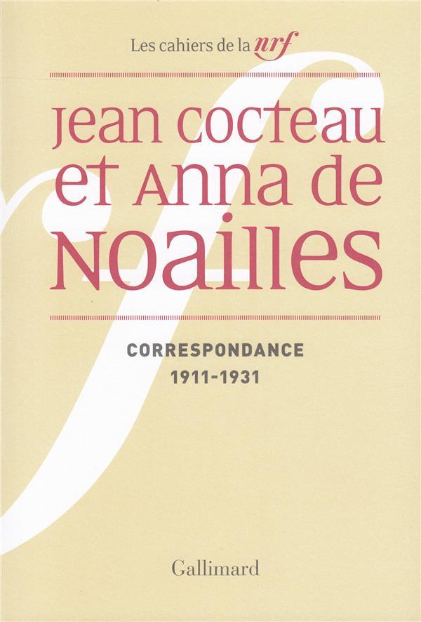 Correspondance - (1911-1931)