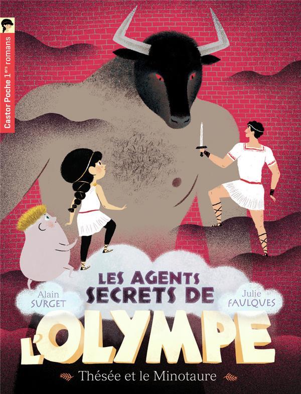 Les agents secrets de l'Olympe T.6 ; Thésée et le minotaure