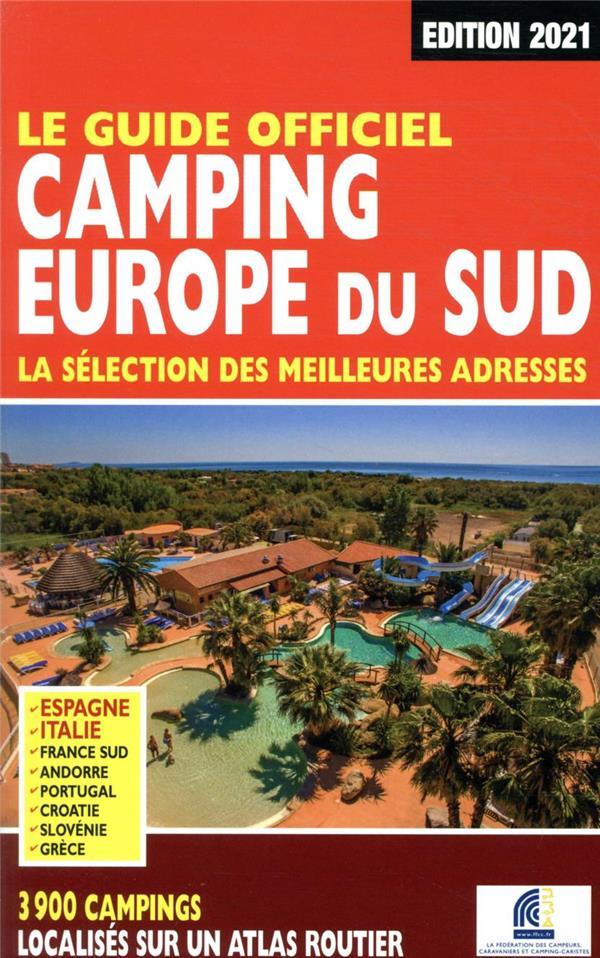 guide officiel camping Europe du Sud (édition 2021)