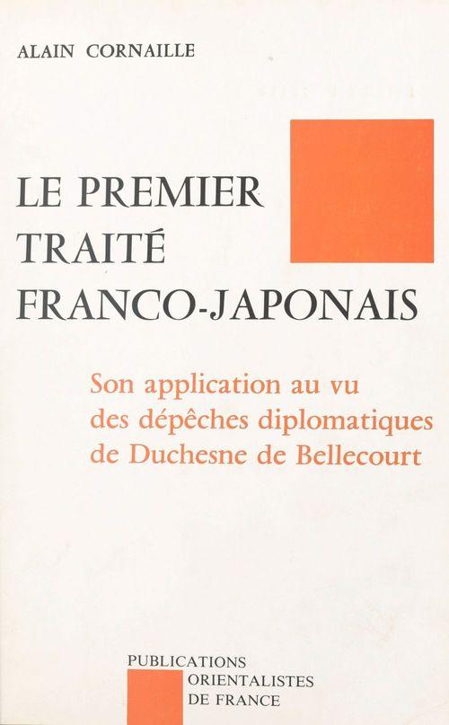 Le premier traite franco-japonais