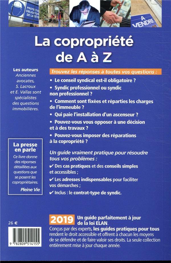 La copropriété de A à Z (édition 2019)