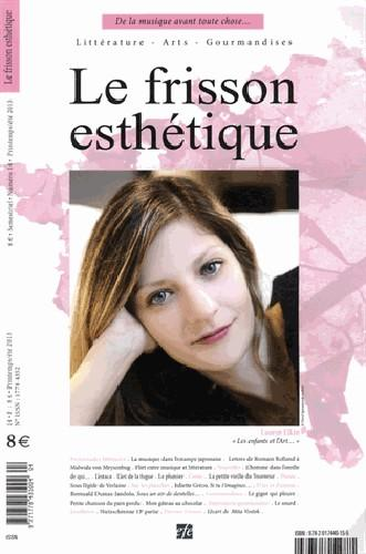 Revue le frisson esthetique t.14; de la musique avant toute chose...
