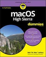Vente Livre Numérique : MacOS High Sierra For Dummies  - Bob LEVITUS