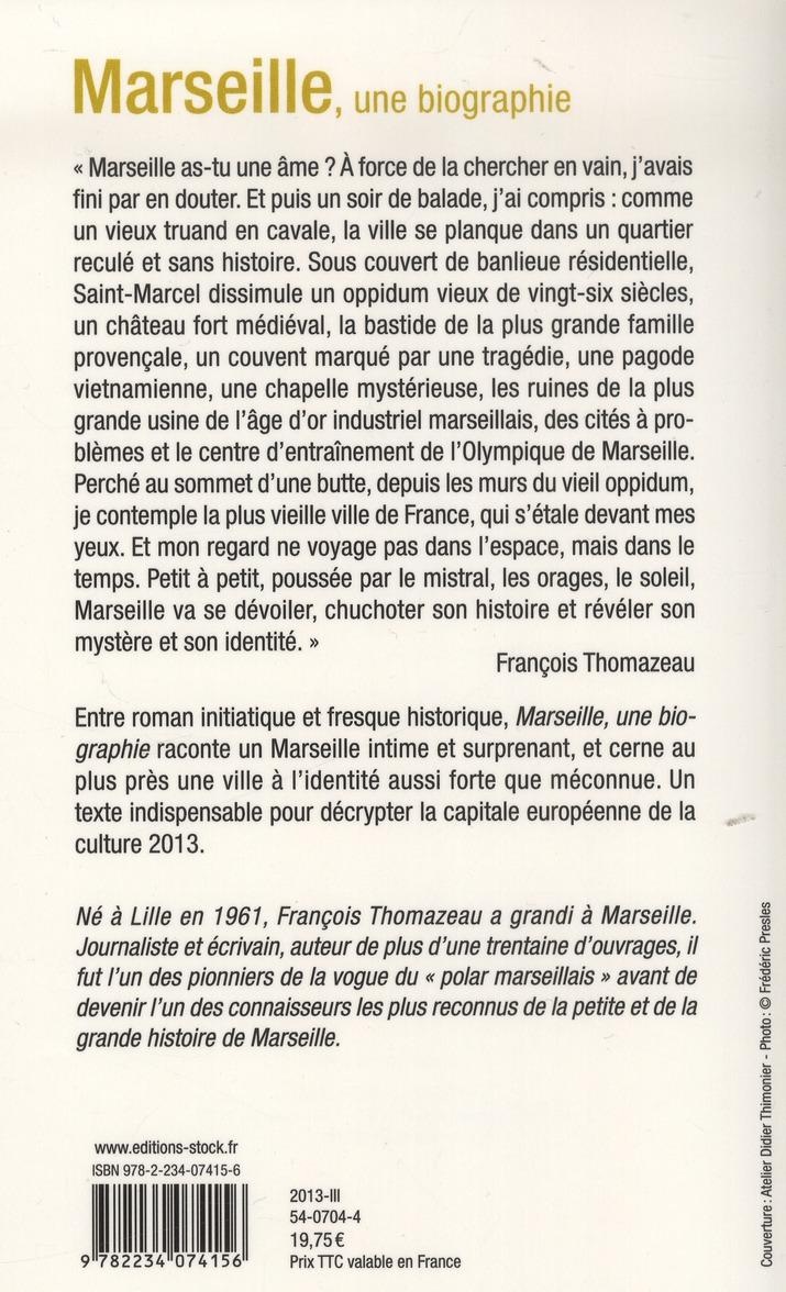 Marseille, une autobiographie