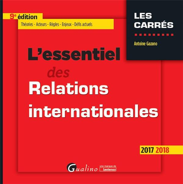 L'essentiel des relations internationales (édition 2017/2018)