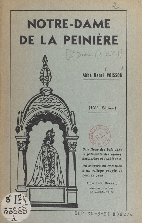 Notre-Dame de la Peinière  - Henri Poisson
