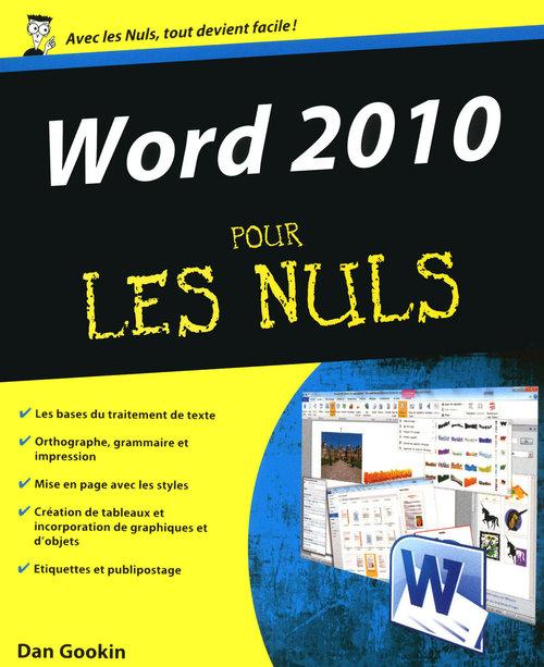 Word 2010 pour le nuls