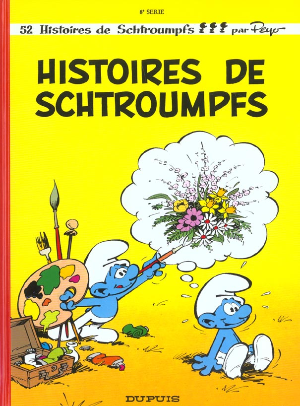 Les Schtroumpfs T.8 ; Histoires De Schtroumpfs