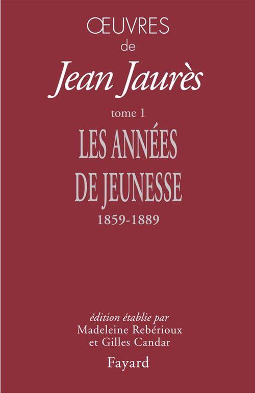 Vente EBooks : Oeuvres, tome 1  - Jean Jaurès