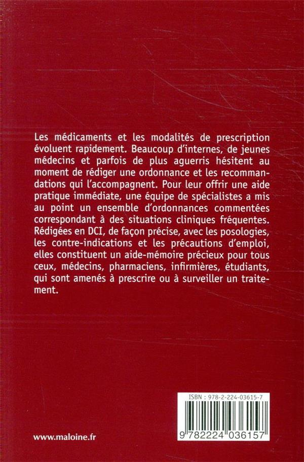Ordonnances 2021, 7e ed. - 200 prescriptions courantes en medecine