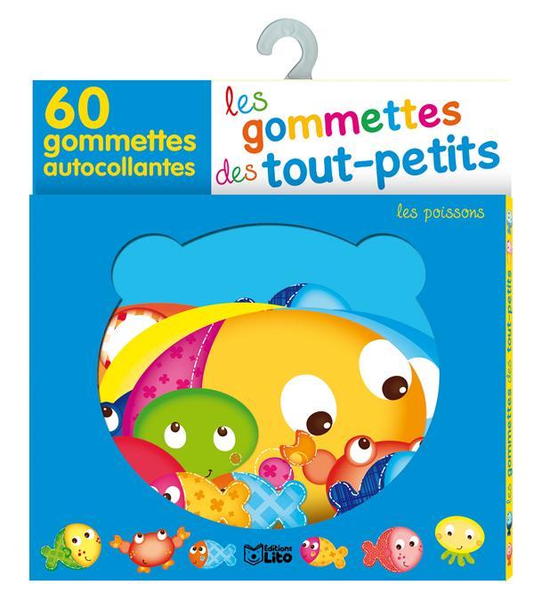 Les Gommettes Des Tout-Petits ; Les Poissons