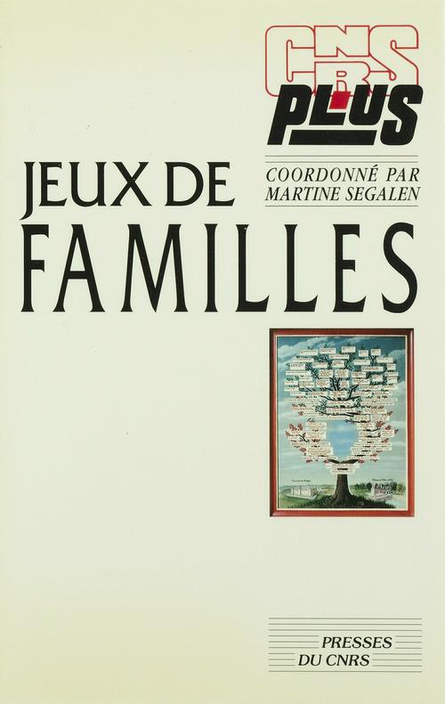 Vente EBooks : Jeux de familles  - Martine SEGALEN