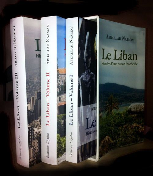 Le Liban ; histoire d'une nation inachevée ; coffret