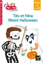 Vente Livre Numérique : Téo et Nina fêtent Halloween  - Marie-Hélène Van Tilbeurgh - Isabelle Chavigny