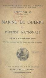 Marine de guerre et défense nationale