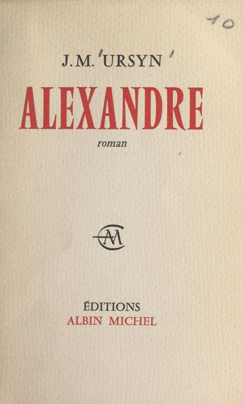 Alexandre  - Joseph-Marie Ursyn
