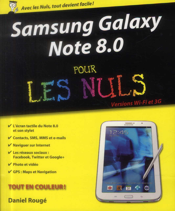 Samsung galaxy note 8 pour les nuls