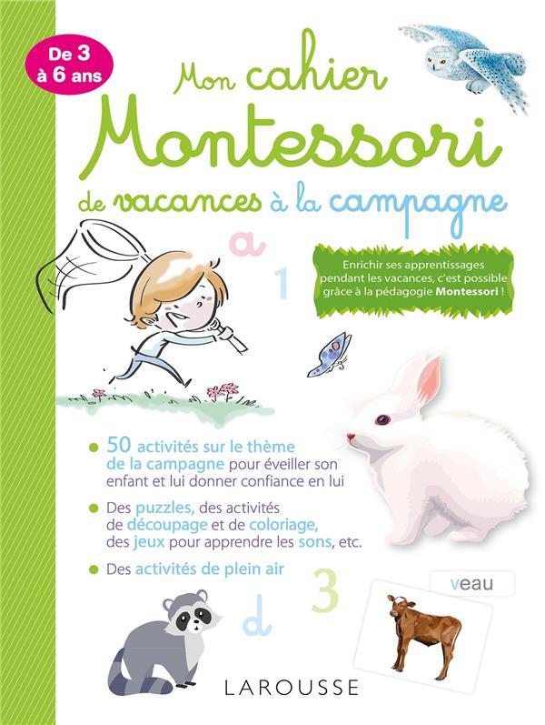 Mon Cahier Montessori De Vacances A La Campagne