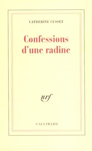 Confessions D'Une Radine