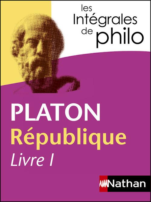 Platon ; république livre I