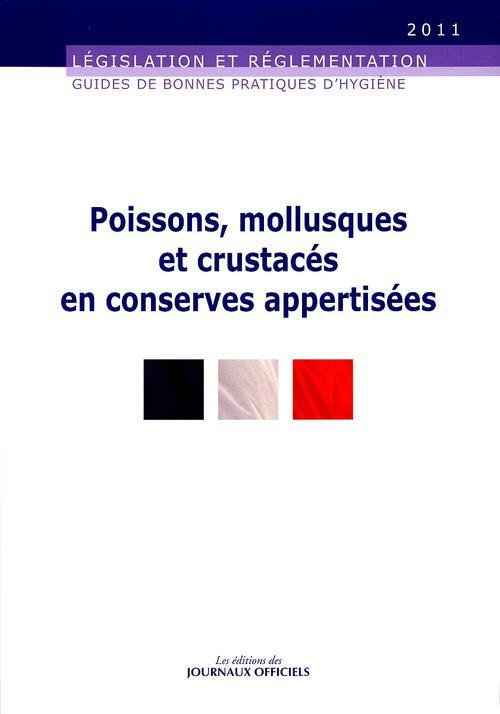 Poissons, mollusques et crustaces en conserves appertisees