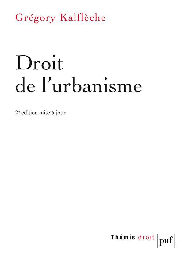 droit de l'ubanisme (2e édition)