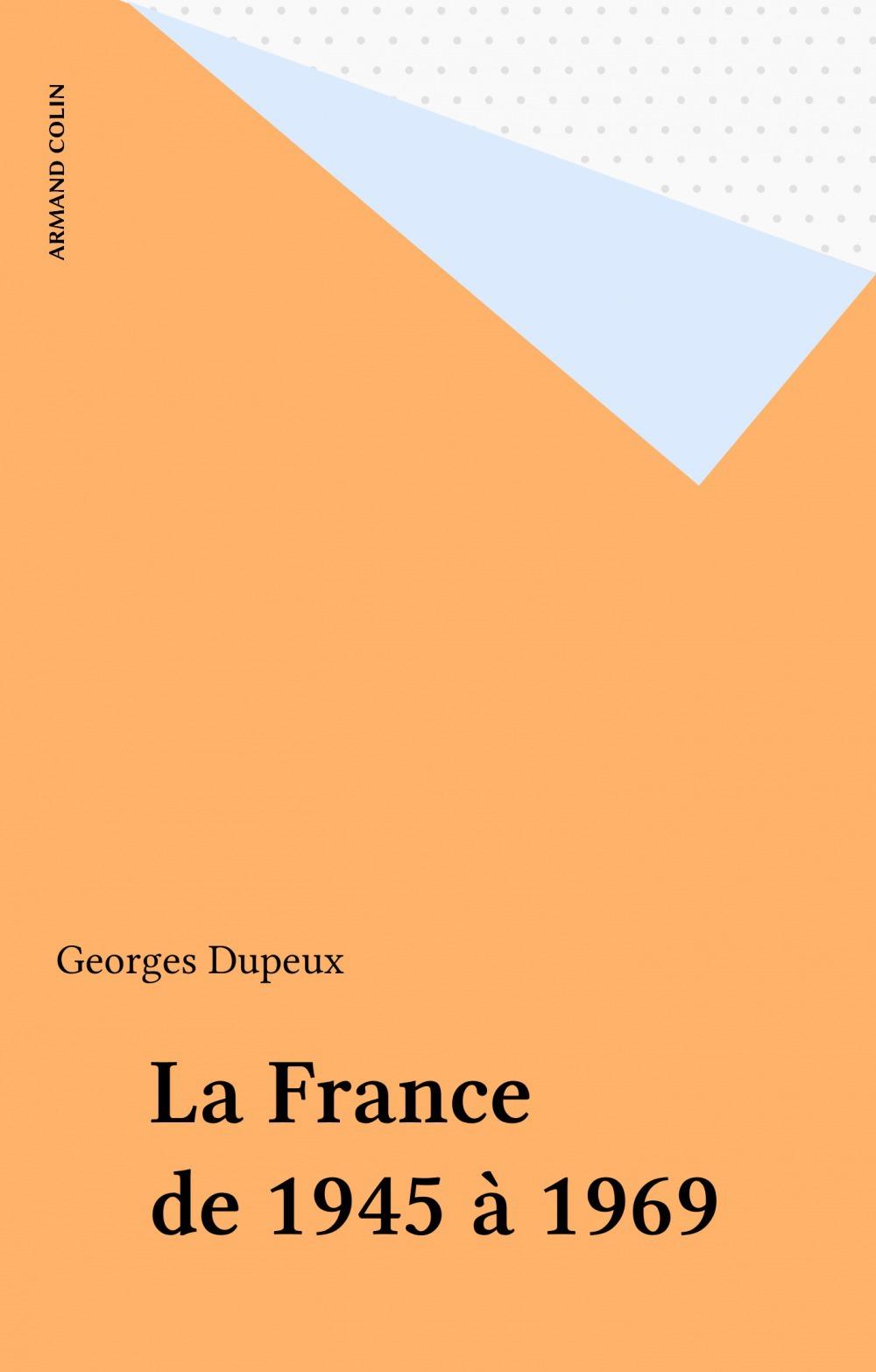 France de 1945 a 1969