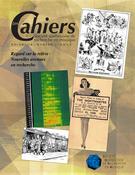 Les Cahiers de la Société québécoise de recherche en musique. Vol. 18 No. 1,  2017
