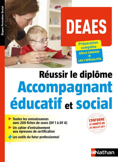 DEAES ; réussir le diplôme d'accompagnant éducatif et social (édition 2018)