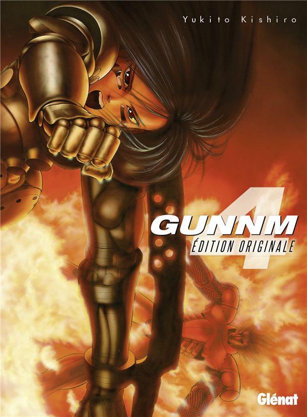 GUNNM - EDITION ORIGINALE - TOME 04 KISHIRO YUKITO