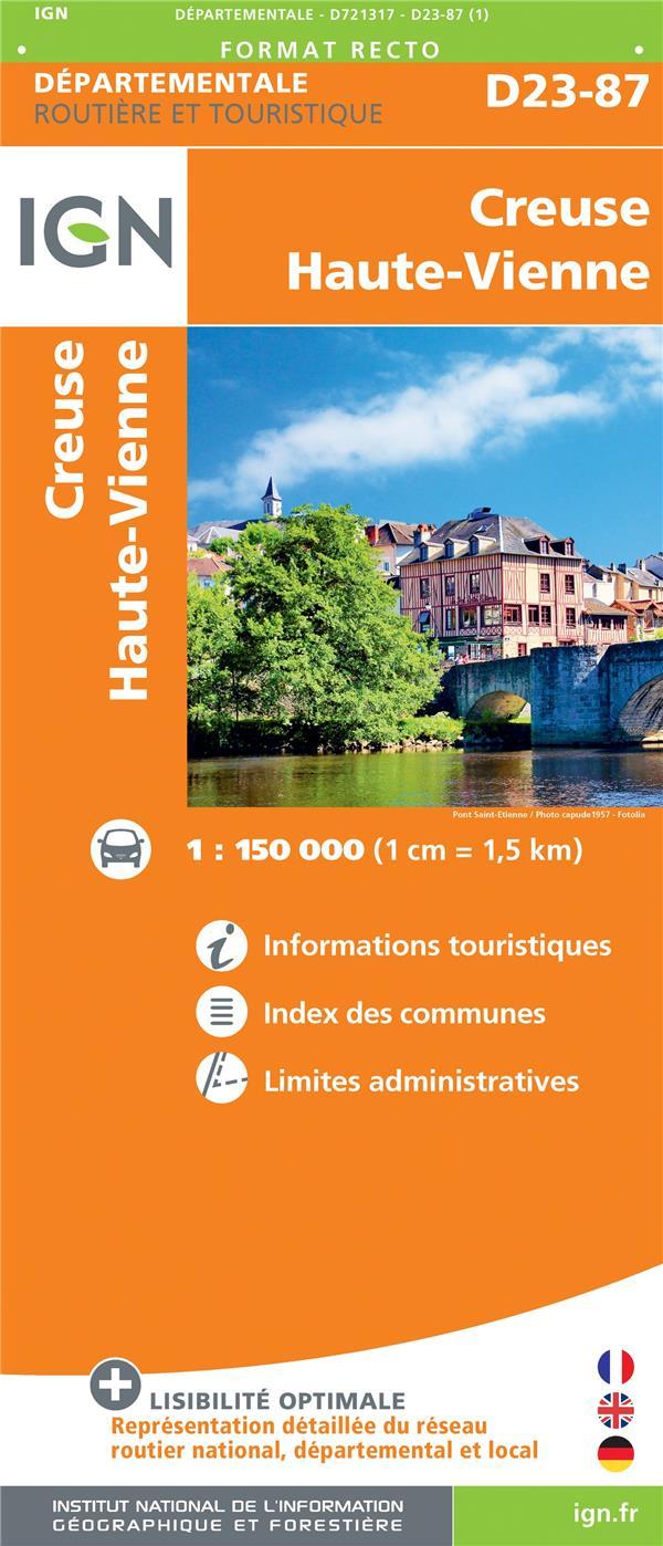 D721317 ; Creuse, Haute-Vienne
