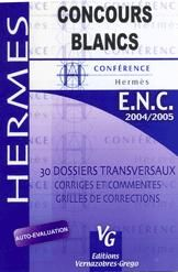 Concours Blanc 2004/2005