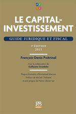 Vente Livre Numérique : Le capital-investissement - 5e édition  - François-Denis Poitrinal